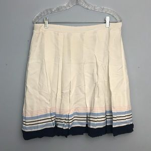 White and Blue skirt - Old Navy Large